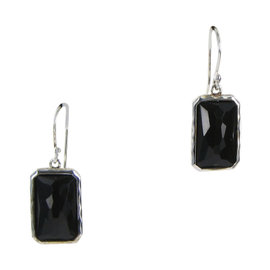 Ippolita 925 Sterling Silver with Onyx Earrings