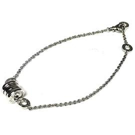 Bulgari 750 White Gold Bracelet Bangle Chain
