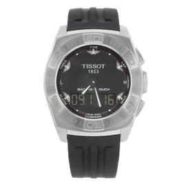 Tissot Racing-Touch T002.520.17.051.00 Stainless Steel and Rubber Quartz 43mm Mens Watch