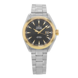 Omega Seamaster Aqua Terra 231.20.34.20.01.004 18K Yellow Gold and Stainless Steel Automatic 33mm Wpmens Watch