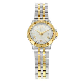 Raymond Weil Tango 5399-STP-00657 Stainless Steel / Yellow Gold 28mm Womens Watch