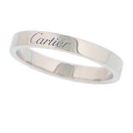 Cartier PT950 Platinum Ring Size 7.5