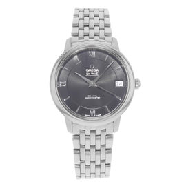 Omega DeVille 424.10.33.20.01.001 Stainless Steel Automatic 33mm Womens Watch