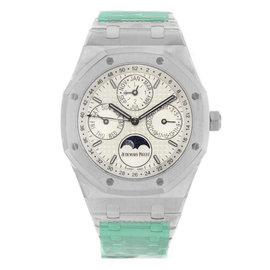 Audemars Piguet Royal Oak 26574ST.OO.1220ST.01 Stainless Steel with Silver Dial 41mm Mens Watch