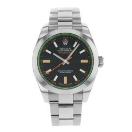 Rolex Milgauss 116400GV bko Stainless Steel Automatic 40mm Mens Watch