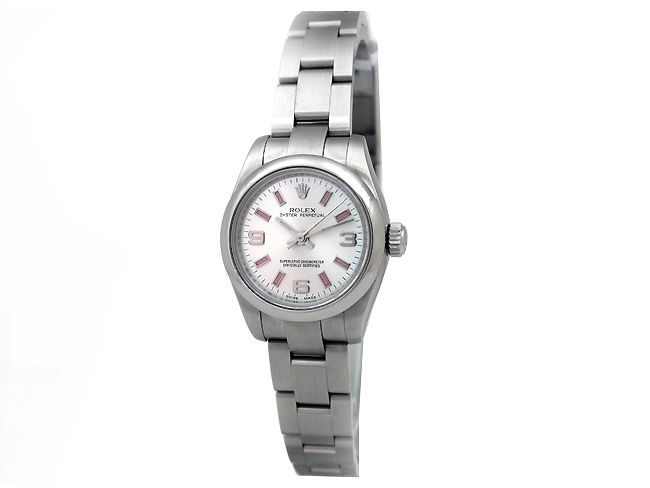 """Image of """"Rolex Oyster Perpetual 176200 Stainless Steel 26mm Womens Watch"""""""