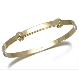 Gucci 18k Yellow Gold Bangle Bracelet