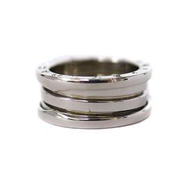 Bulgari B.Zero1 750 White Gold Ring Size 6.5