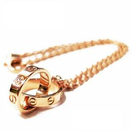 Cartier 750 Rose Gold Baby Love Bracelet Size 6.29