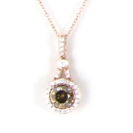Le Vian Chocolatier 14K Rose Gold with 0.92ct Diamonds Necklace