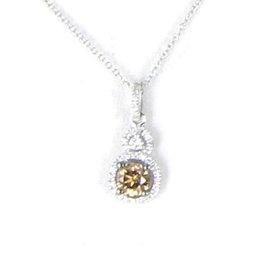 Le Vian Chocolatier 14K White Gold with 0.57ct Diamonds Necklace