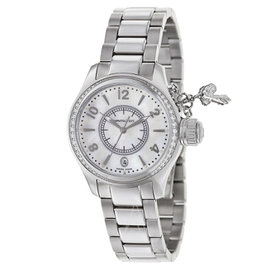 Hamilton Khaki Navy Seaqueen H77311115 Stainless Steel & White Mother of Pearl Dial 37mm Womens Watch