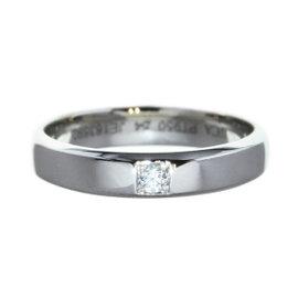 Van Cleef & Arpels 950 Platinum Diamond Toujours Ring Size 6.5