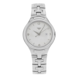 Tissot T12 T082.210.11.038.00 Stainless Steel with White Dial 34mm Womens Watch