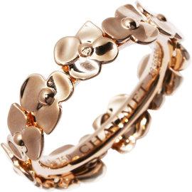 Chaumet Hortensia 18k Rose Gold Ring Size 5.75