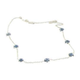 Ippolita Rock Candy Lollipop 925 Sterling Silver & London Blue Topaz Necklace