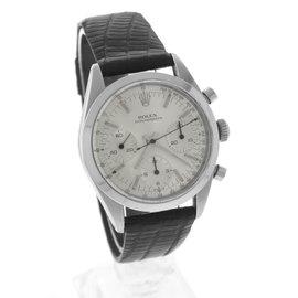 Rolex Daytona 6238 Chronograph Stainless Steel Silver 36mm Mens Watch 1966