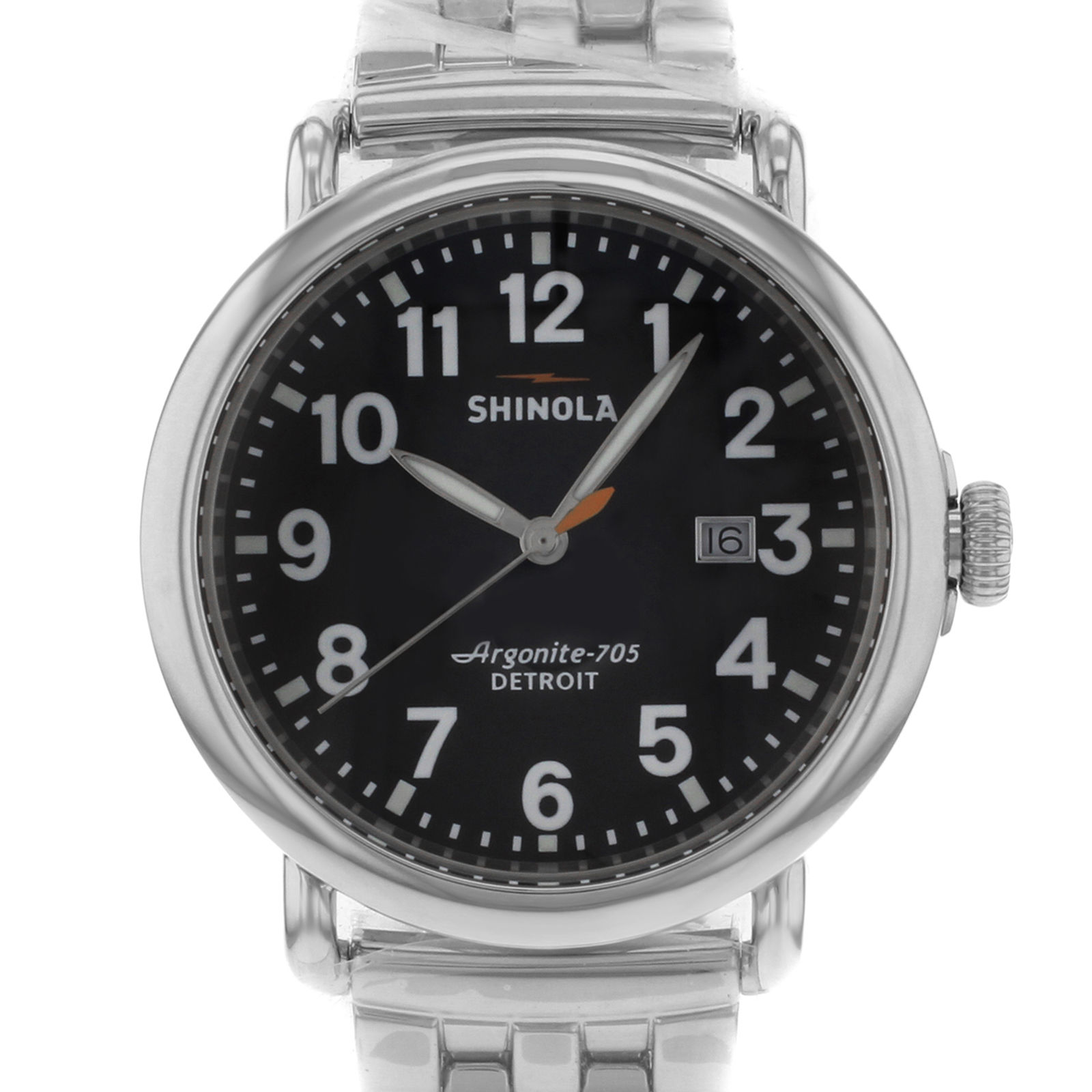 "Image of ""Shinola The Runwell 10000053 Stainless Steel Quartz 41mm Mens Watch"""