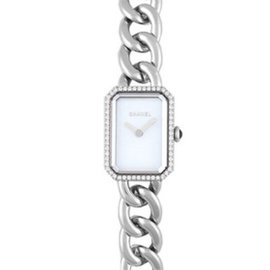 Chanel Premiere H3253 Stainless Steel & Diamond 16mm Womens Watch
