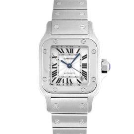 Cartier Santos Galbee w20056d6 Stainless Steel 24mm Womens Watch