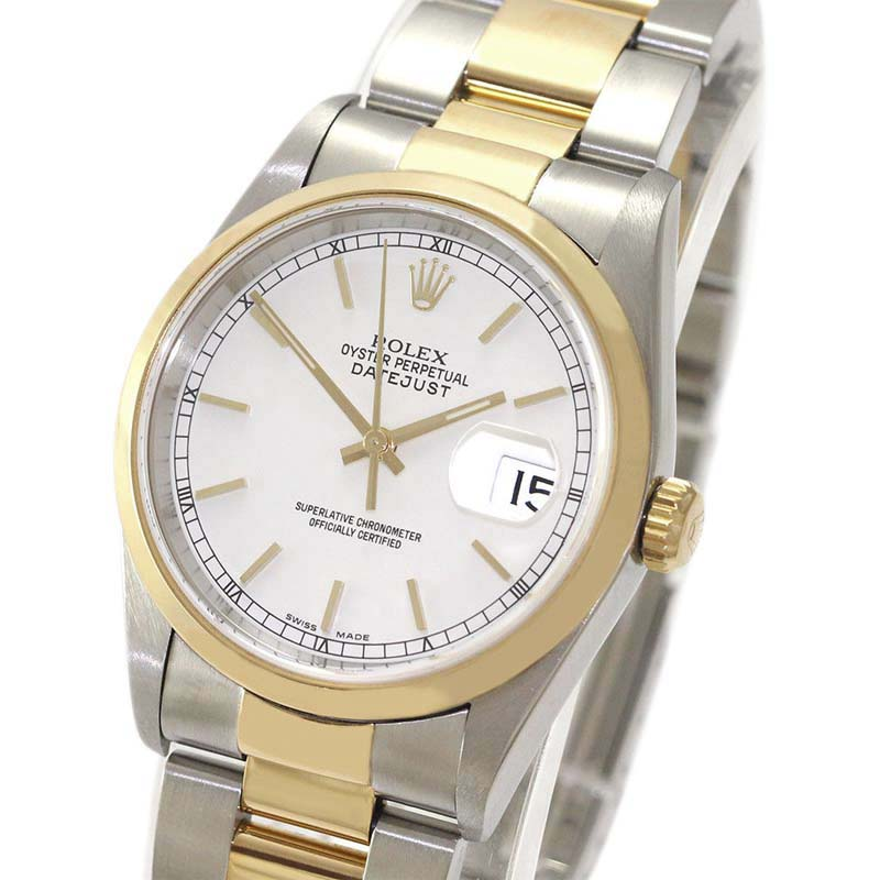 """Image of """"Rolex Datejust 16203 Stainless Steel & 18K Yellow Gold Automatic 36mm"""""""