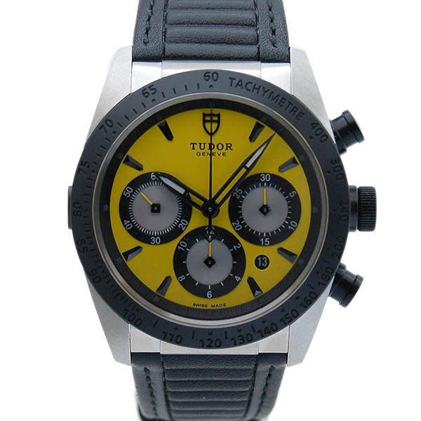 "Image of ""Tudor Fast Rider 42010N Stainless Steel Automatic 41mm Mens Watch"""