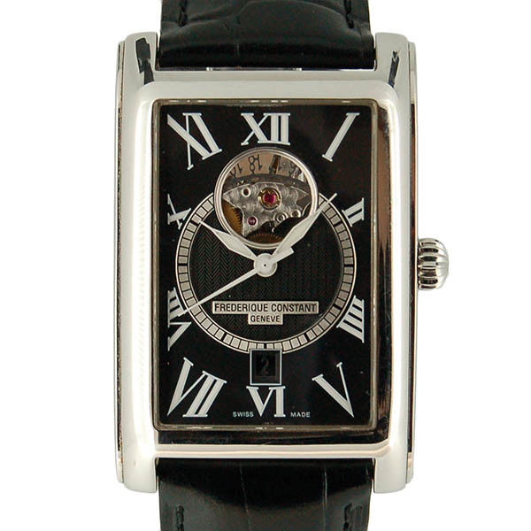 """Image of """"Frederique Constant Fc-315Bs4C26 Stainless Steel & Leather Automatic"""""""