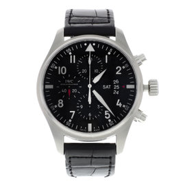 IWC Pilots IW377701 Stainless Steel Automatic 43mm Mens Watch