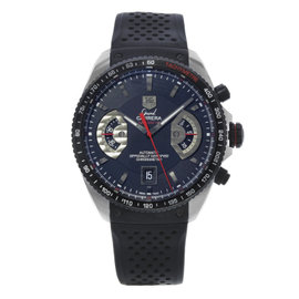 Tag Heuer Carrera CAV511C.FT6016 Stainless Steel Titanium Black Automatic 43mm Mens Watch