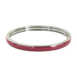 Belle Etoile Constellations 925 Sterling Silver & Pink Enamel Bracelet