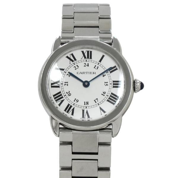"Image of ""Cartier Ronde Solo SM W6701004 Stainless Steel Silver Dial Quartz 29mm"""