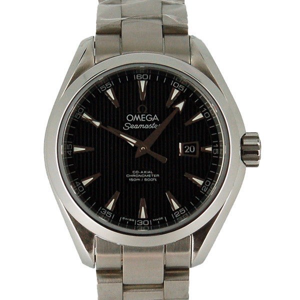 "Image of ""Omega Seamaster 231.10.34.20.01.001 Stainless Steel Black Dial"""
