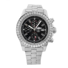 Breitling Super Avenger A1337011/B907-135A Stainless Steel Automatic 48mm Mens Watch