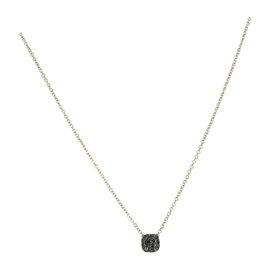 Pomellato Nudo 18K Rose Gold with Black Diamond Pendant Necklace