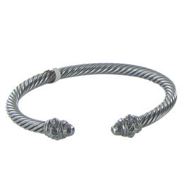 David Yurman Renaissance Darkened Sterling Silver Bracelet