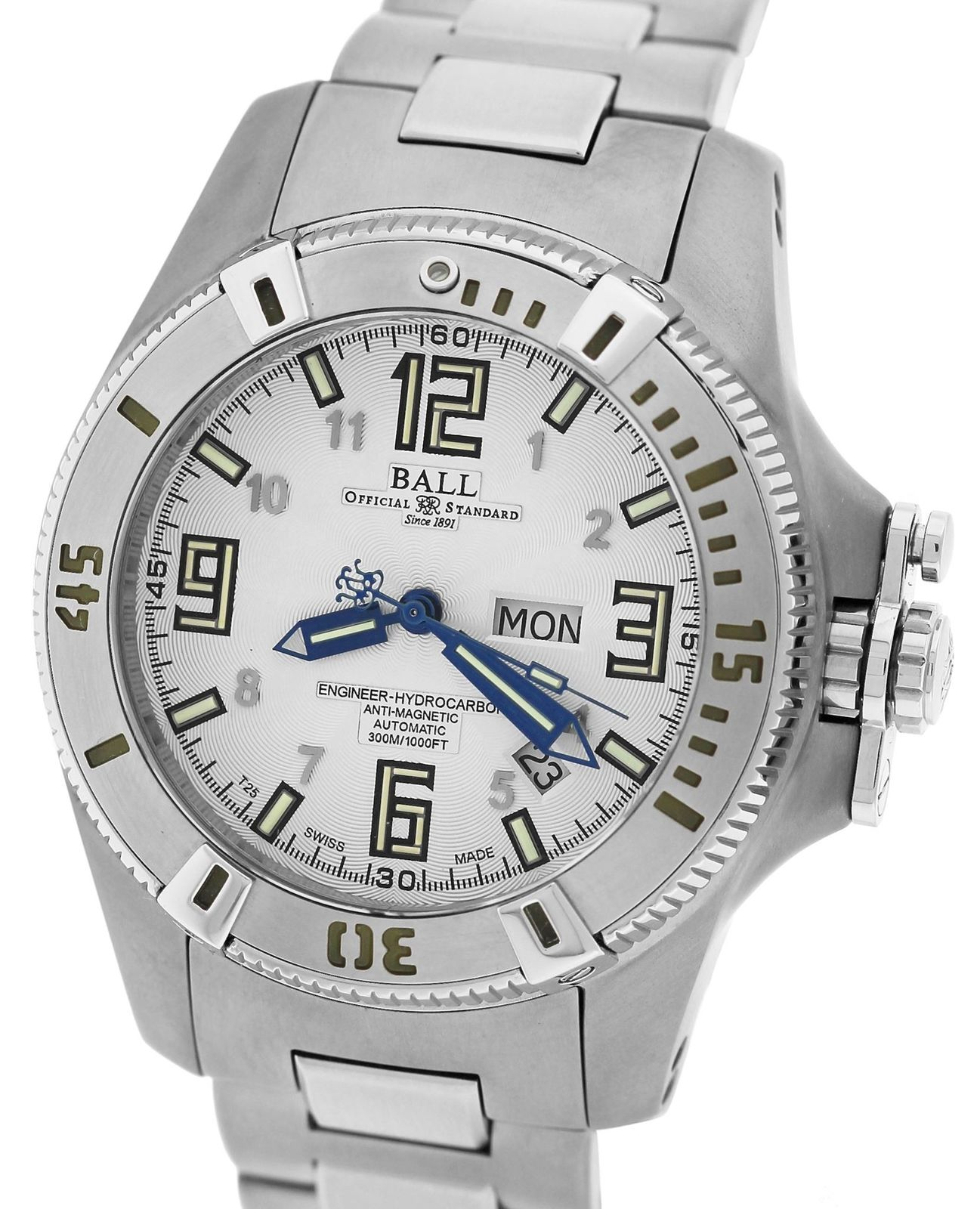 "Image of ""Ball Engineer Hydrocarbon John 'Mad Cow' Titanium / Stainless Steel"""