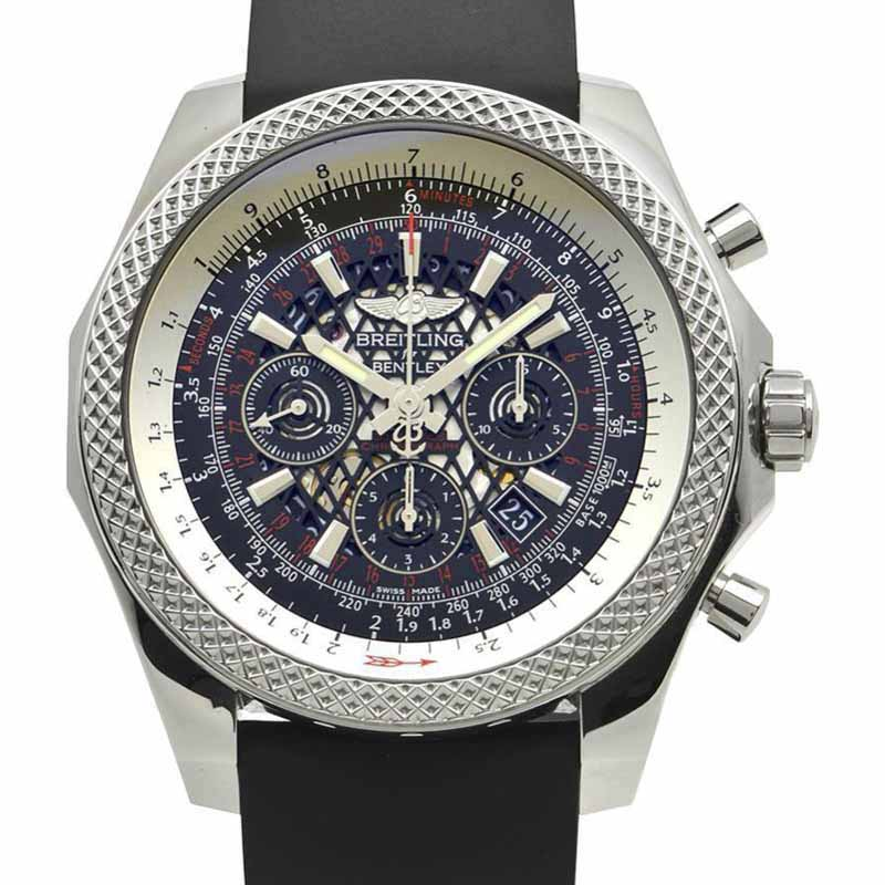 """Image of """"Breitling Bentley B 06 AB 0611 Stainless Steel & Rubber Automatic 49mm"""""""
