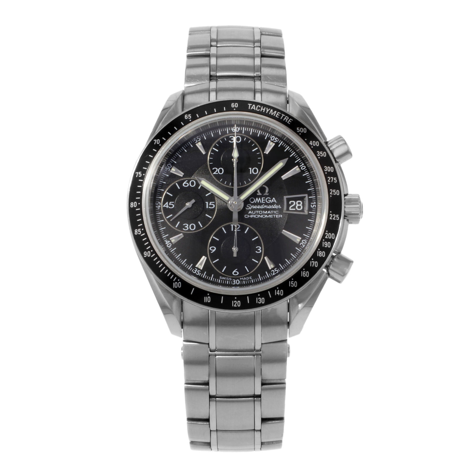 "Image of ""Omega Speedmaster 3210.50.00 Stainless Steel Automatic 40mm Mens Watch"""