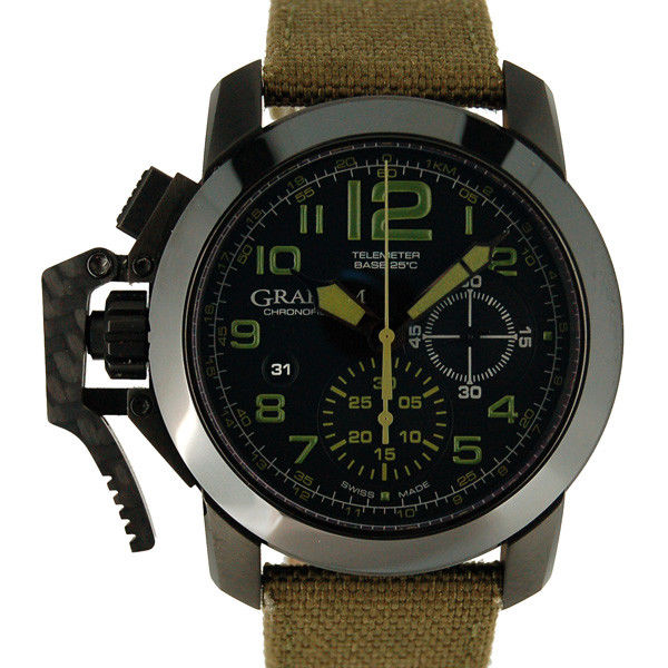 "Image of ""Graham ChronoFighter 2Ccau.g01A.t15N PVD Coated Stainless Steel"""