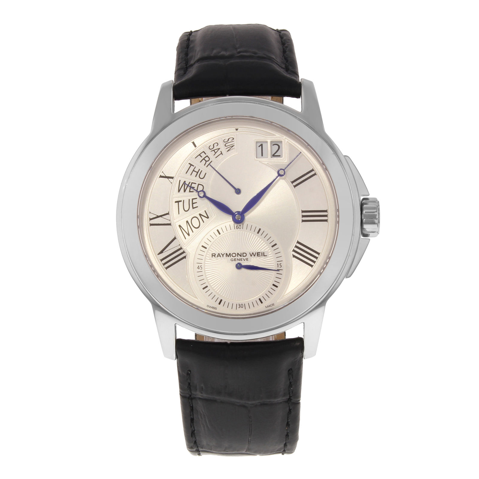 """Image of """"Raymond Weil Tradition 9579-stc-65001 Stainless Steel Quartz 42mm Mens"""""""