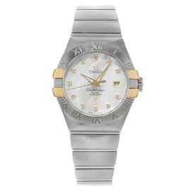 Omega Constellation 123.20.31.20.55.004 Stainless Steel Automatic 31mm Womens Watch