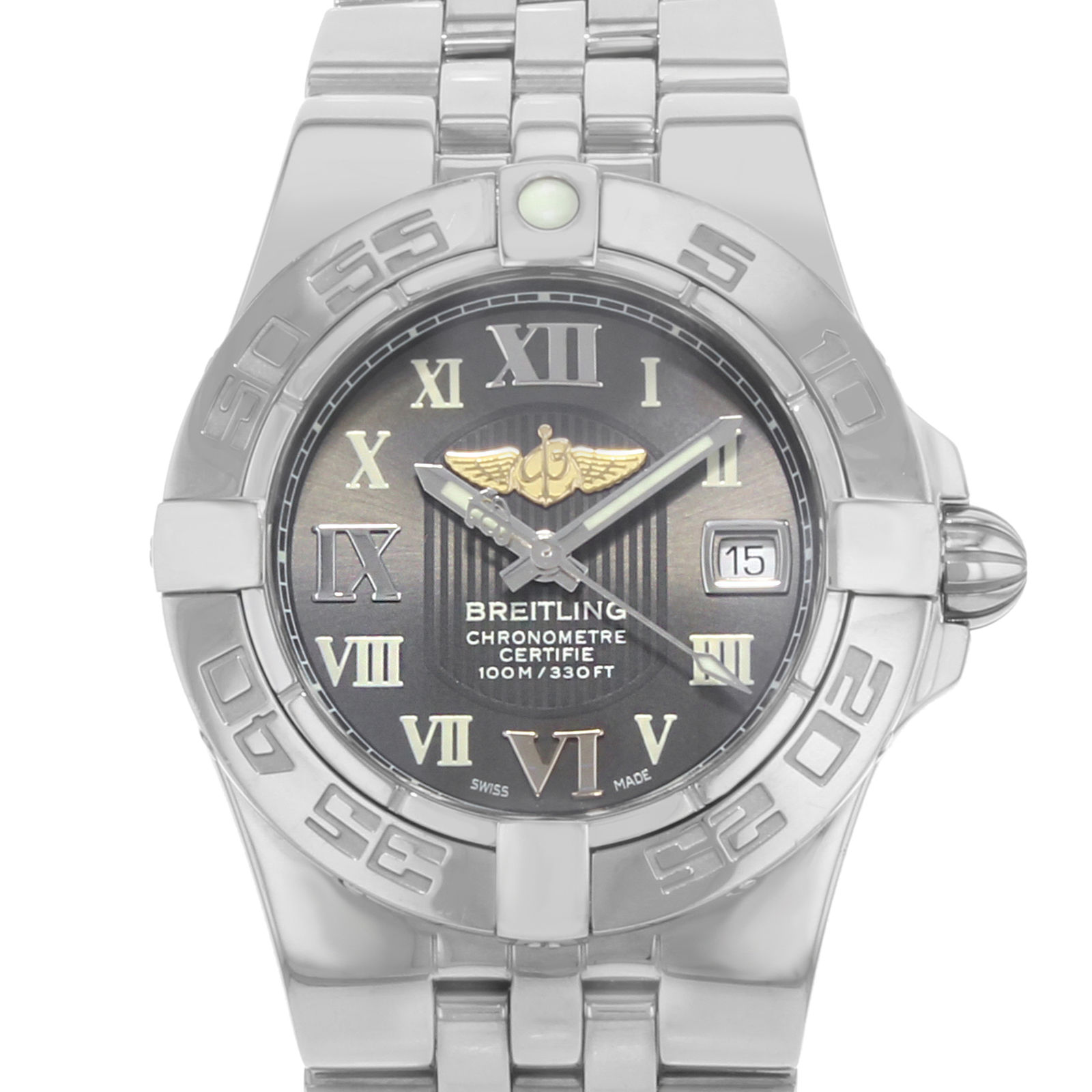 "Image of ""Breitling Galactic A71340L2/m523-368A Stainless Steel Quartz 30mm"""