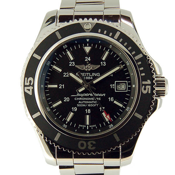 """Image of """"Breitling Superocean 2 A182B71Pss Stainless Steel Automatic 42mm Mens"""""""