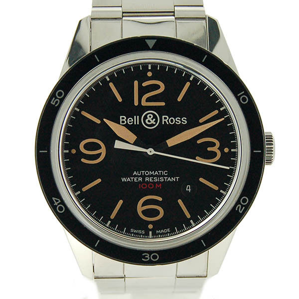 """Image of """"Bell & Ross Vintage Sports Heritage BR 123 Stainless Steel 41mm Mens"""""""
