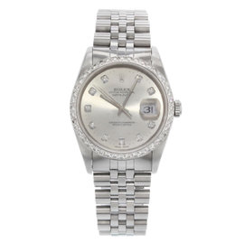 Rolex Datejust 16234 Stainless Steel Automatic 36mm Mens Watch