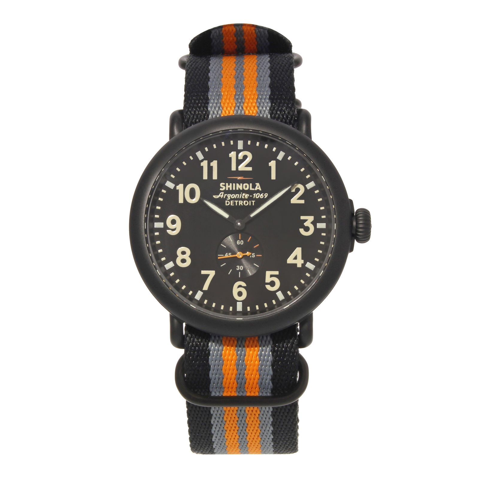 "Image of ""Shinola The Runwell 10000142 Black PVD Stainless Steel Quartz 47mm"""