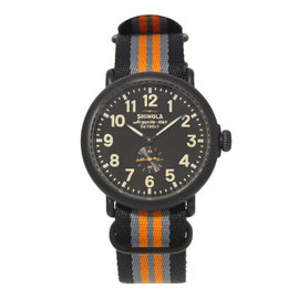 Shinola The Runwell 10000142 Black PVD Stainless Steel Quartz 47mm Mens Watch
