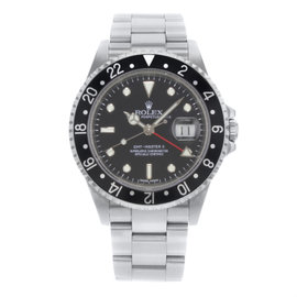 Rolex GMT-Master II 16710 Stainless Steel Automatic 40mm Mens Watch