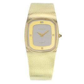 Movado 14K Yellow Gold Quartz Vintage 30mm Unisex Watch