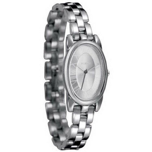"Image of ""Nixon A165130 Silver Plated Stainless Steel Quartz 19mm Womens Watch"""